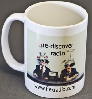 "FlexRadio ""Rediscover Radio"" Coffee Mug"
